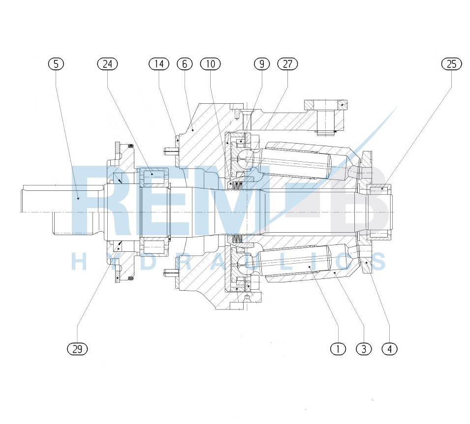 STANDARD SPARE PARTS A4VSO40