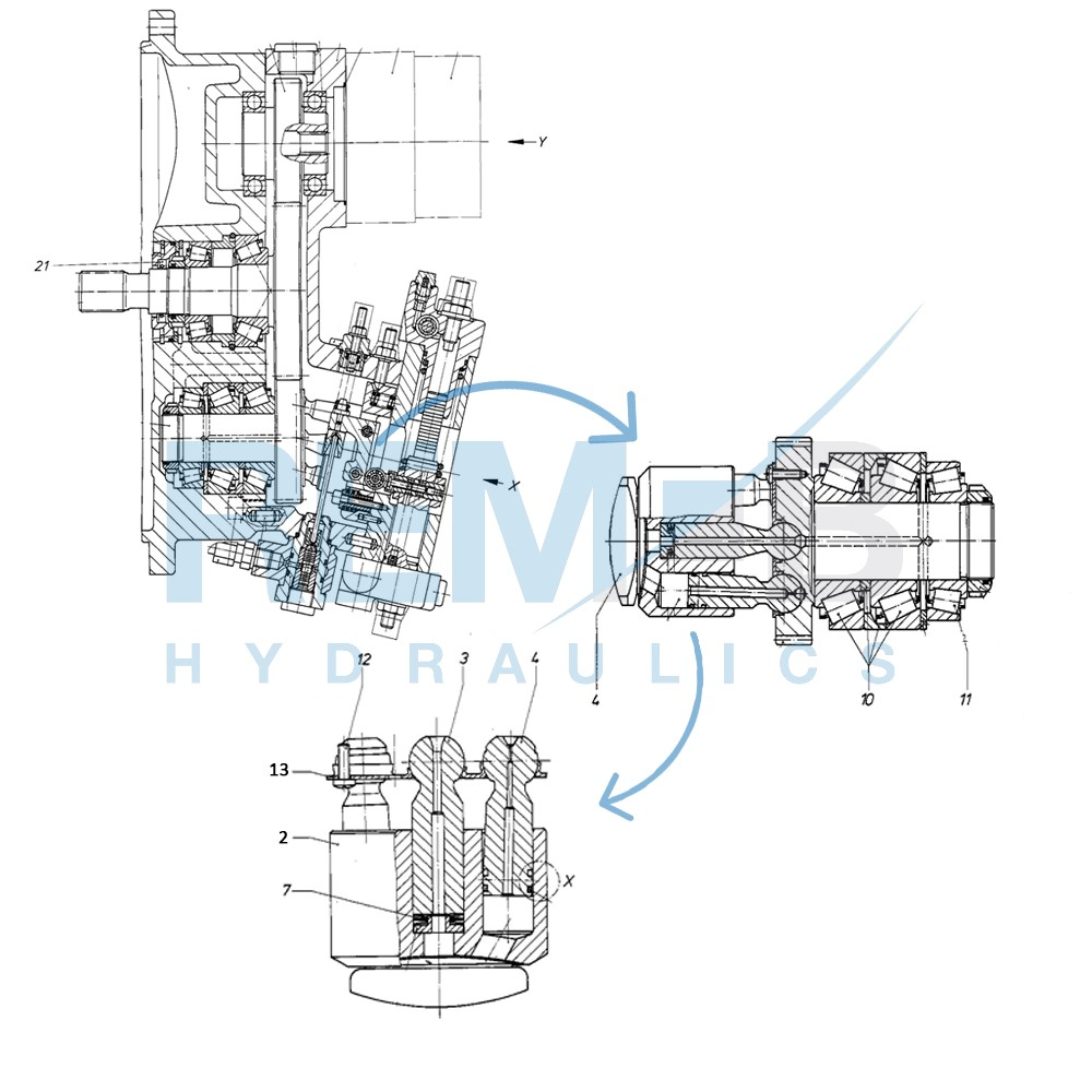 STANDARD SPARE PARTS A8VO200